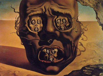 Salvador Dali - Vision of War